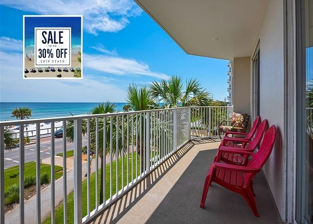 Majestic Sun 211B - Beautiful Gulf Views From Private Balcony