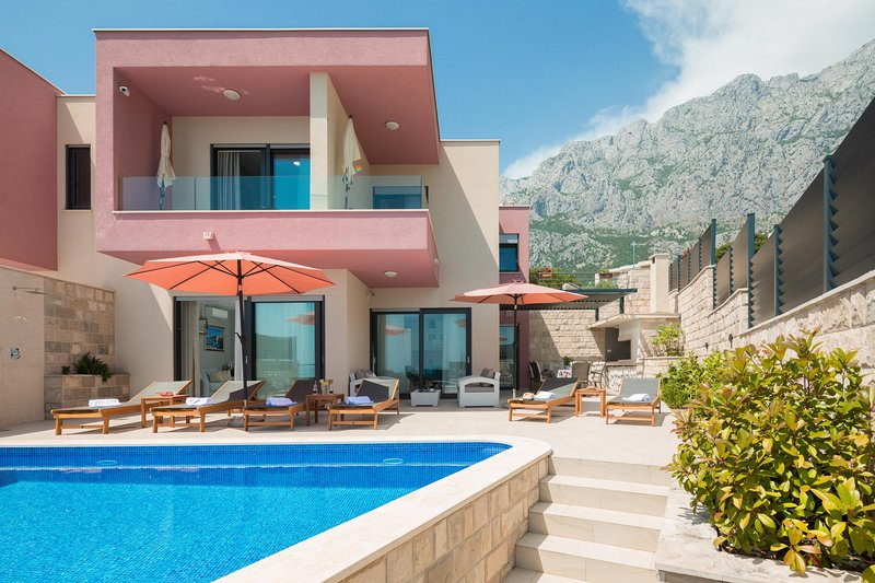 NEW Luxury Villa Harmony Makarska, location de vacances à Makarska