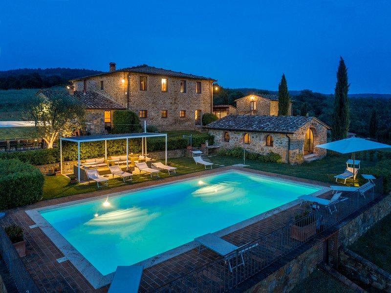Villa Il Borgo, alquiler de vacaciones en Bucine