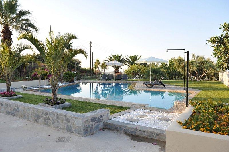 Anna 6BR Villa, Asteri Rethymno, location de vacances à Asteri