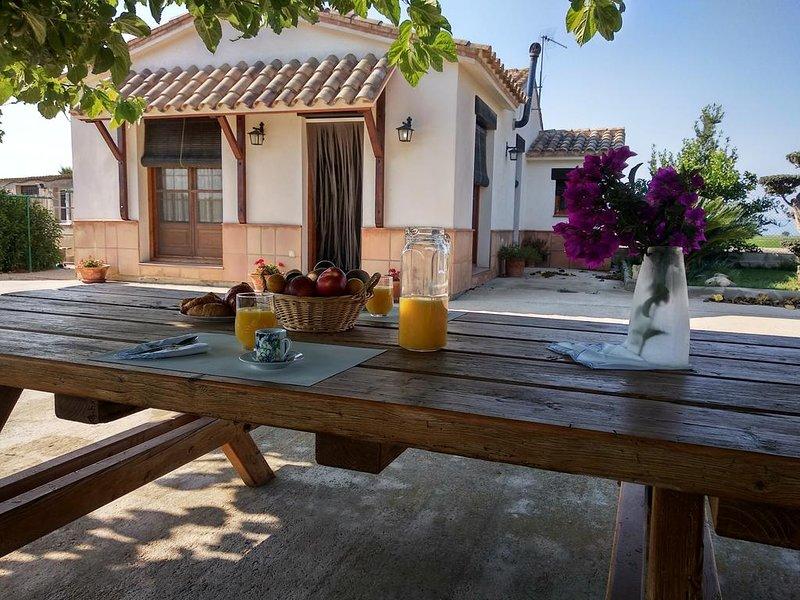 Amazing house with swimming-pool, aluguéis de temporada em Deltebre