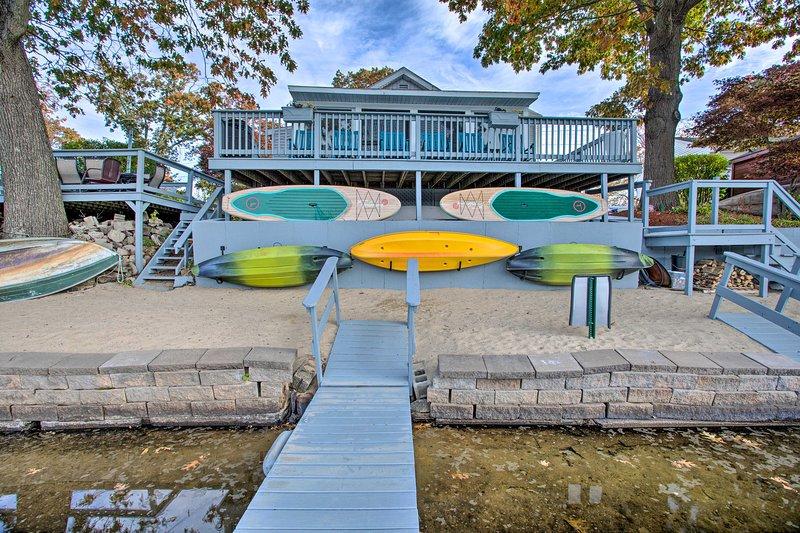 Geniet van toegang tot een dock!