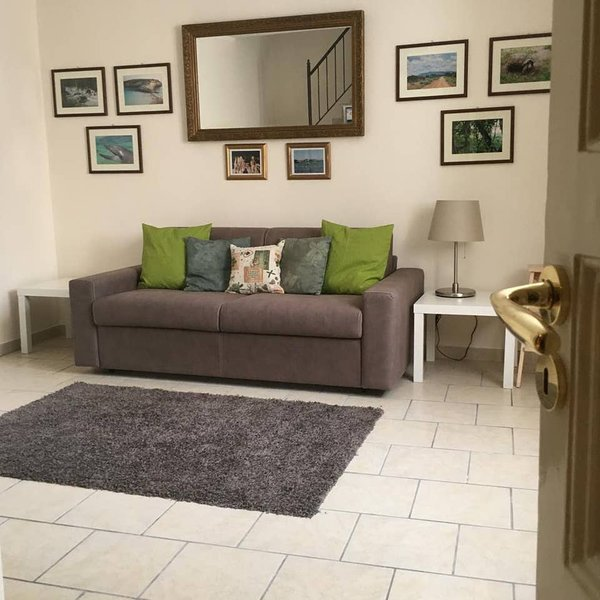 Beautiful apartment with balcony, holiday rental in Raddusa