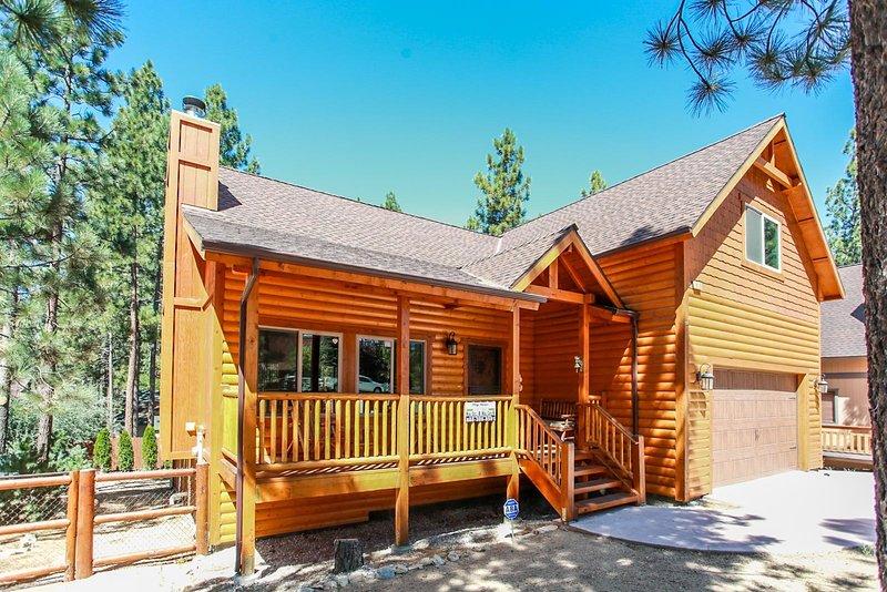 Bâtiment, maison, cabine, cabane en rondins, nature