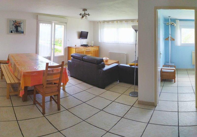 Vaste & lumineux gîte 'PIMA', vue superbe sur la montagne - La Bresse, vacation rental in La Bresse