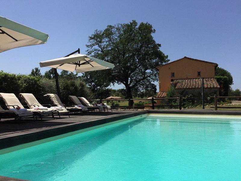 Agriturismo Pieve de' Pitti, vacation rental in Terricciola