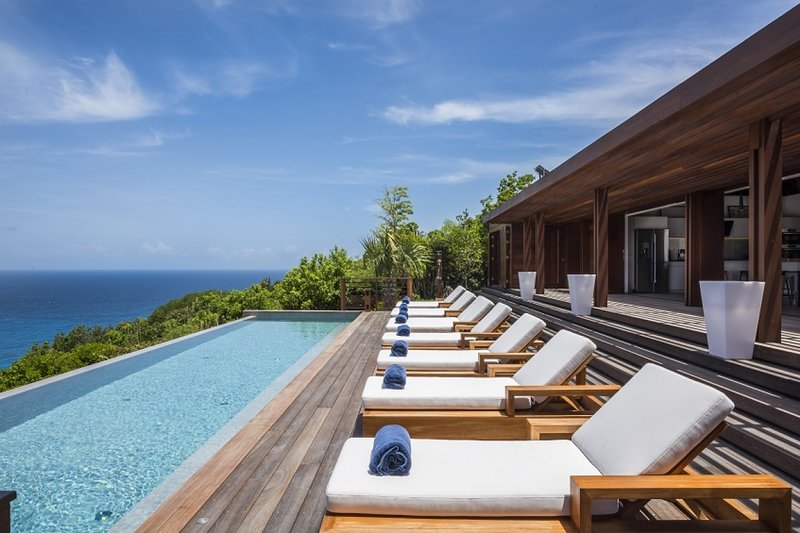 Villa La Danse Du Soleil | Ocean View - Located in Beautiful Deve with Private, holiday rental in Grand Fond