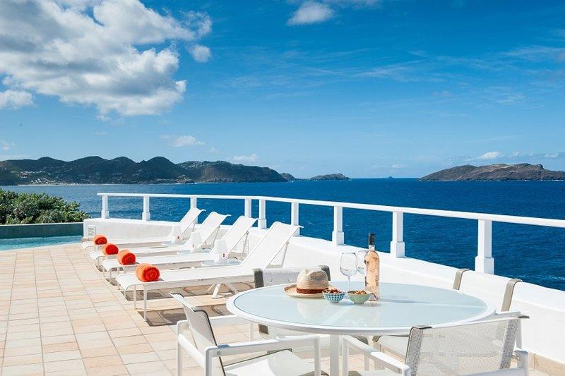 Villa Cap Au Vent | Ocean Front - Located in Beautiful Pointe Milou with Priva, casa vacanza a Pointe Milou