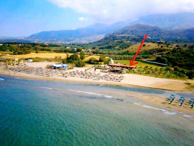 WEBNODE LA PALMA APARTMENTS 3,a beachfront paradise!, aluguéis de temporada em Georgioupolis