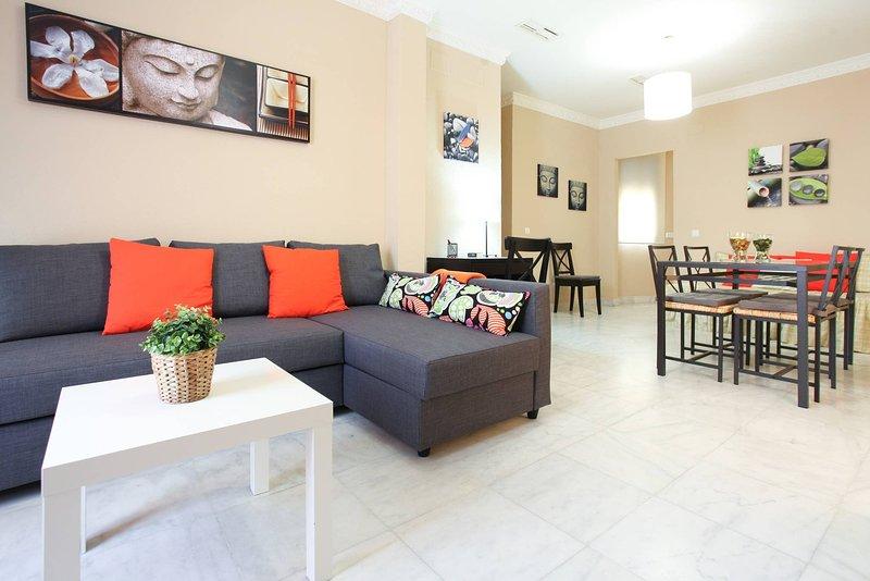 Apartam 1 Dormitorio Centrico Wifi Vftse00079, holiday rental in La Campana