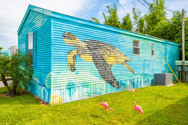 Tiny House - Sea Turtle, vacation rental in Gulf Gate Branch