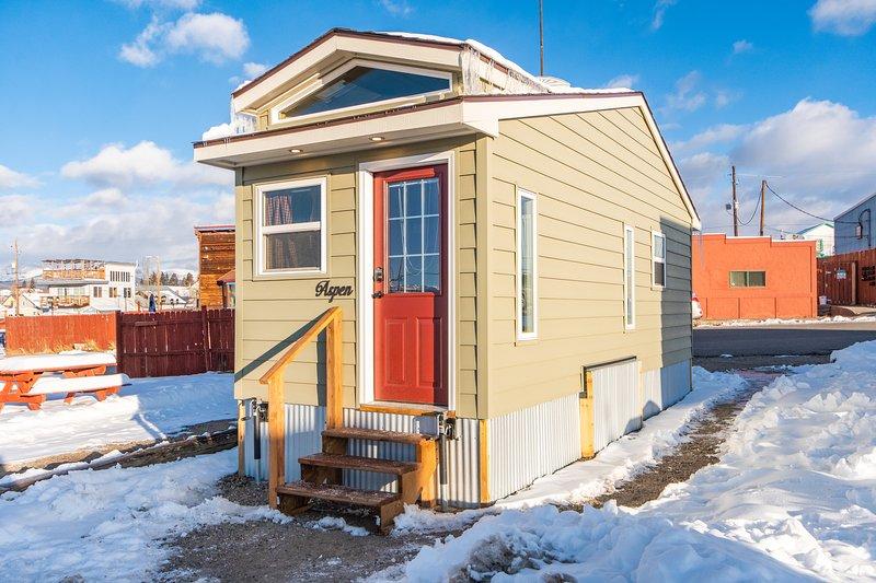 Tiny House Aspen, location de vacances à Granite