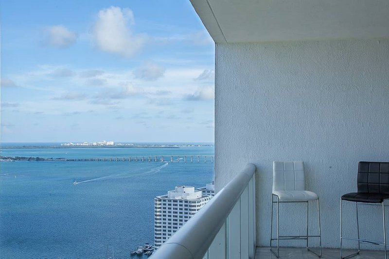 Chill out and enjoy the views of Biscayne Bay