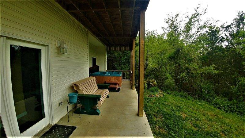 Porch,Patio,Pergola,Furniture,Flooring