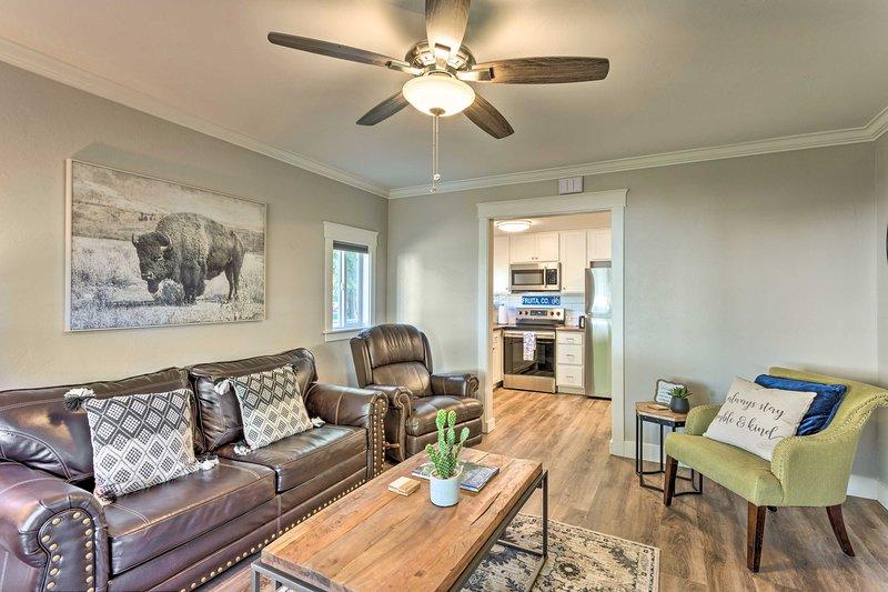 Updated Fruita Cottage - 1 Block to Downtown!, holiday rental in Fruita