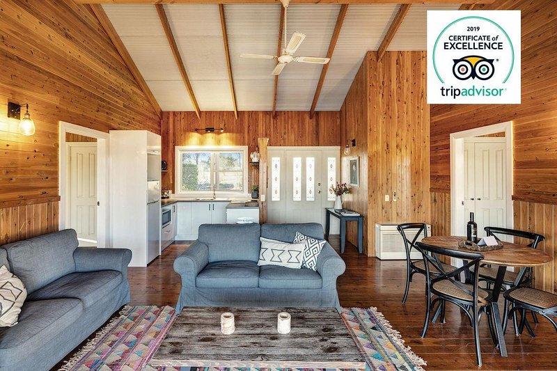 North Lodge Highland Cottage Pokolbin Hunter Valley, alquiler de vacaciones en Singleton