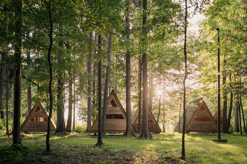 Hut 'Forest bed' - Forest Camping Mozirje, vacation rental in Gornji Grad