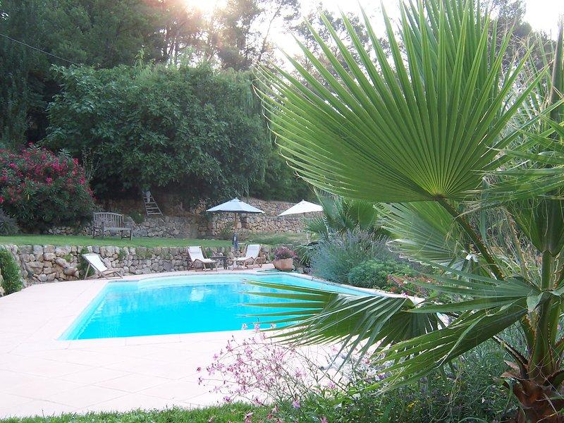 Amazing villa with swimming-pool, alquiler vacacional en Le Tignet
