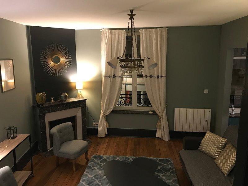 Le Relais des Cordeliers - Appartement 2 pièces 45 m2, Ferienwohnung in Vandoeuvre-les-Nancy