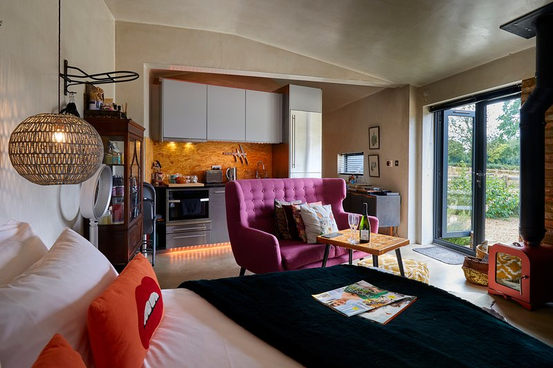 Bethnal - Bethnal & Bec Luxury Rural Retreats, Cottered, Hertfordshire, casa vacanza a Royston
