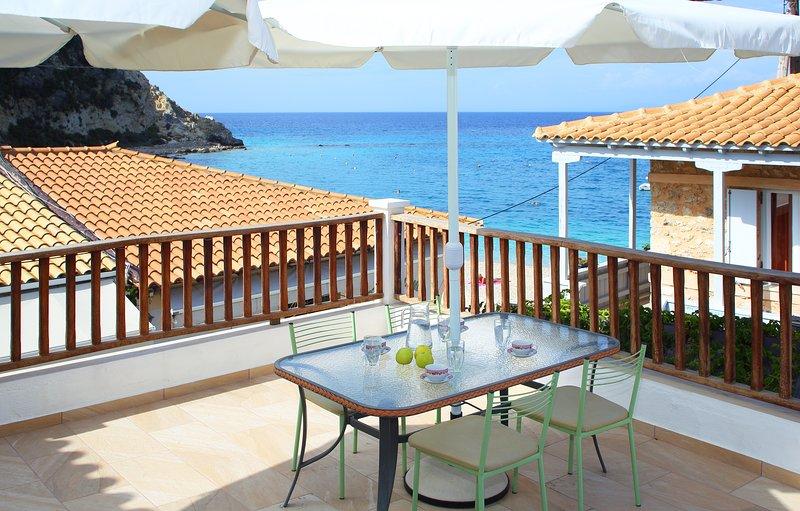 Lagadi Luxury Sea Side, holiday rental in Asproyerakata