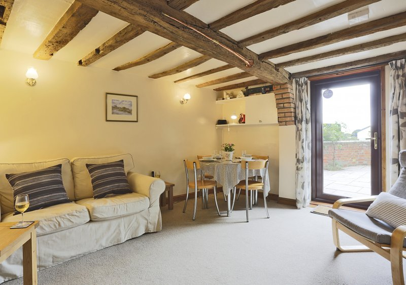 Alde End Cottage, holiday rental in Blaxhall