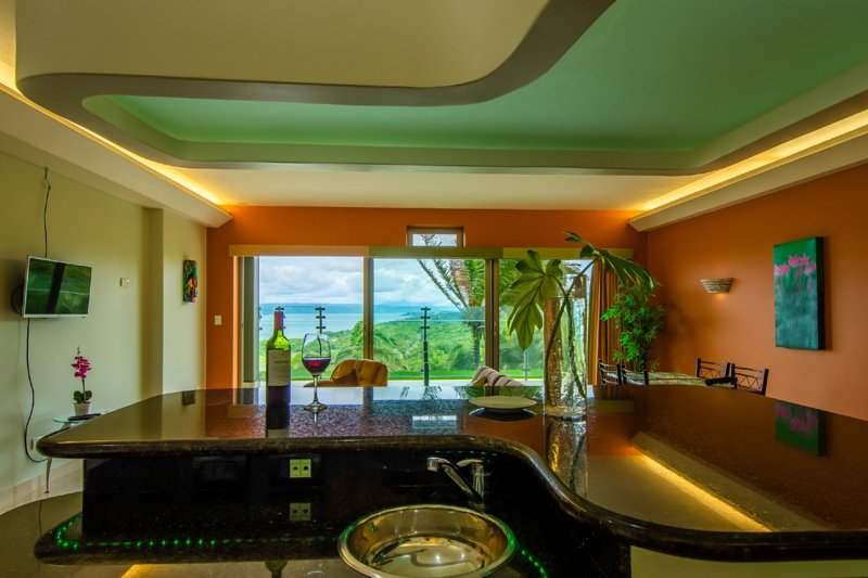 LARGE BEAUTIFUL CONDO SUITE 2B/2B IN LAKE ARENAL, alquiler de vacaciones en Tilarán