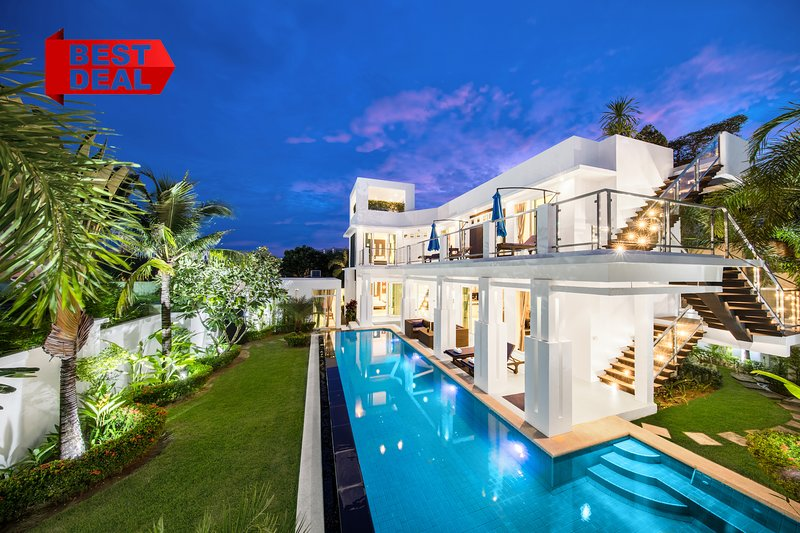 PREMIUM Pool Villa Pattaya 5 Bedroom, BBQ Grill, Jacuzzi, holiday rental in Pattaya