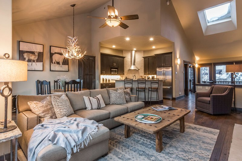 Welcome to Ironwood by the Creek - a modern ski in/ski out condo at the base of Steamboat Resort