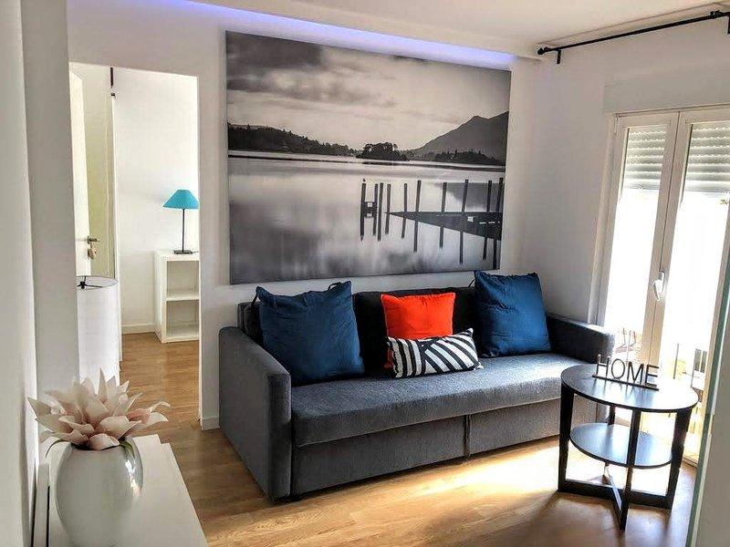 Estiloso & acogedor apartamento en Pueblo Nuevo, aluguéis de temporada em Coslada