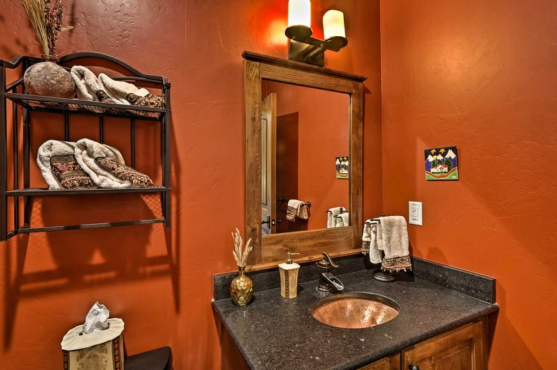 The main floor has a half bath for your convenience.