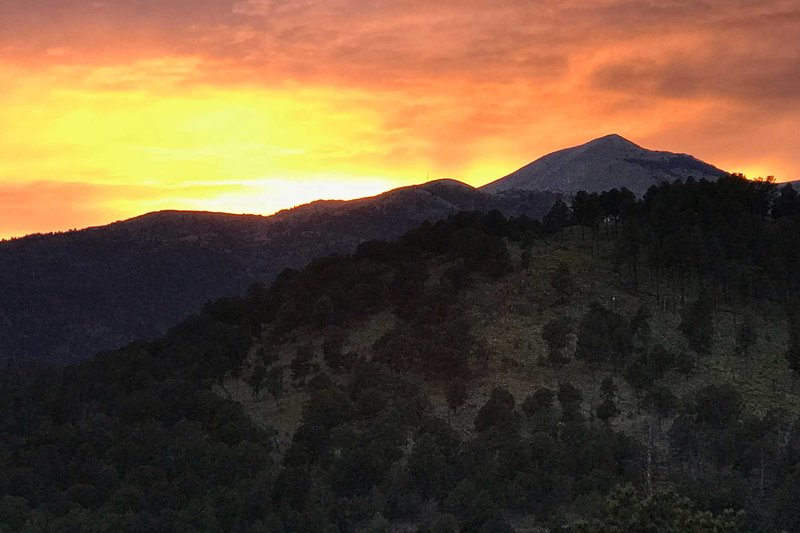 ¡Sunset ofrece una vista increíble, visible desde casa!