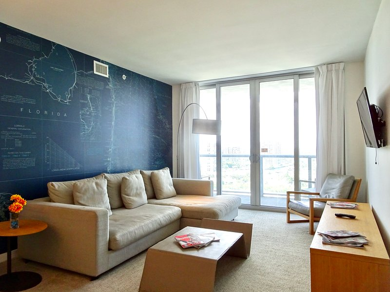 MIA.BW 1410 - Luxury Apartment Two Bedrooms, holiday rental in Hallandale Beach