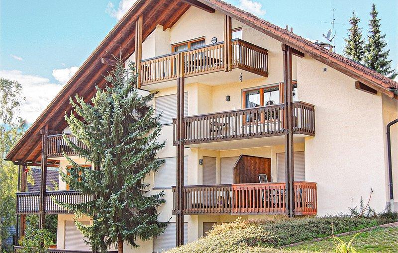 Beautiful home in Todtmoos with 2 Bedrooms (DBW112), holiday rental in Herrischried