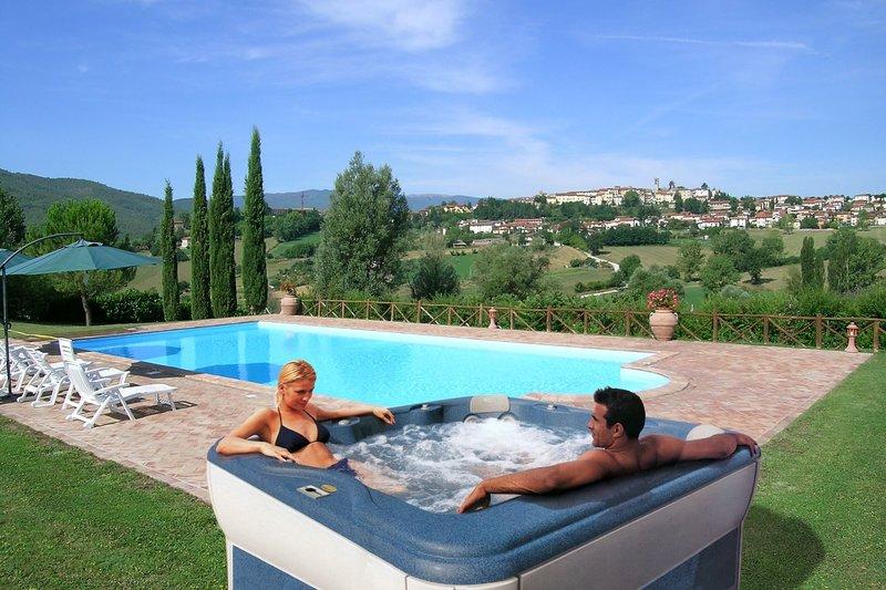 Santa Maria del Sasso Villa Sleeps 8 with Pool and Air Con - 5817893, holiday rental in La Verna
