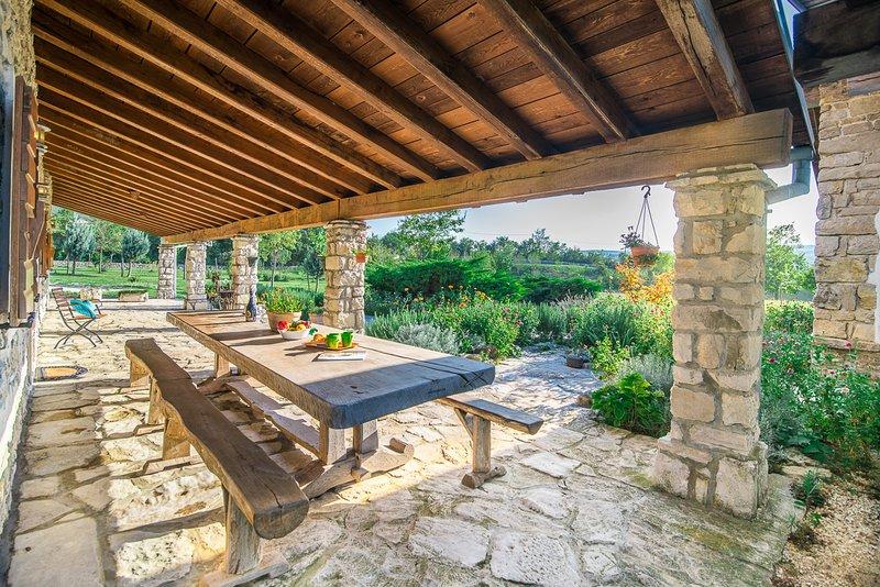 Kozljak Villa Sleeps 6 with Pool - 5048826, holiday rental in Kozljak