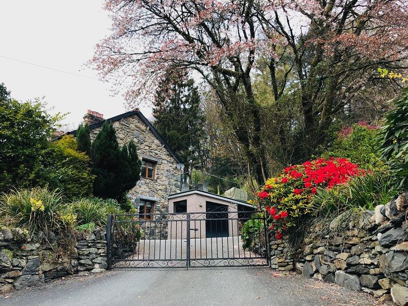 Glasfryn Snowdonia House with Hot Tub, alquiler vacacional en Beddgelert