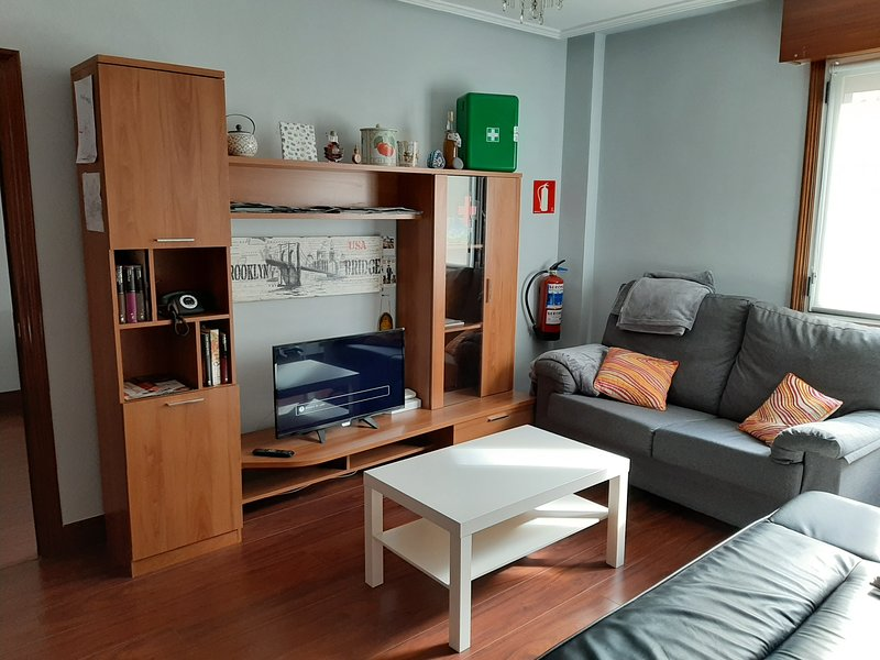 Nice apt with balcony & Wifi – semesterbostad i Lemoa