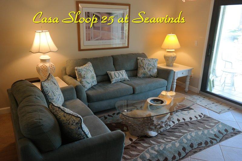 Casa Sloop 25 at Seawinds Condos, St. Augustine Beach, FL, vacation rental in Saint Augustine Beach