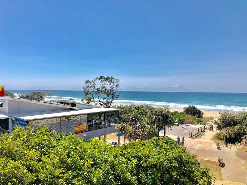 OCEAN VIEW OASIS - ABSOLUTE BEACHFRONT CABARITA BEACH, holiday rental in Cabarita Beach