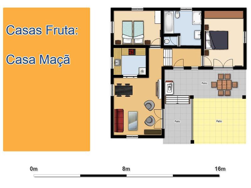 Huis Apple plattegrond.