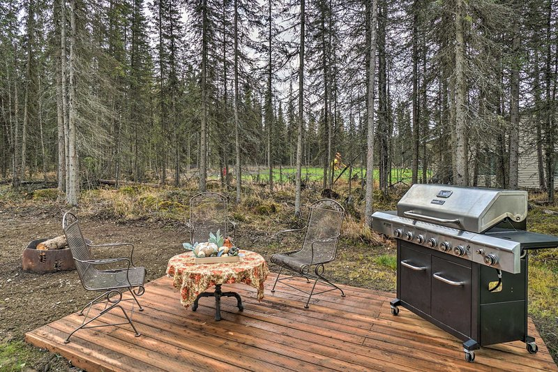 NEW! Single-Story Soldotna Home ~4 Mi to Downtown!, vacation rental in Clam Gulch