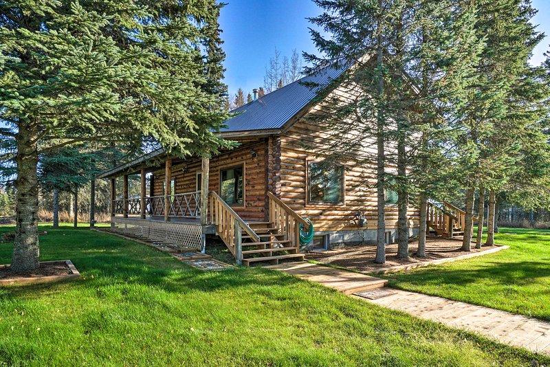 NEW! Cozy Kenai Cabin, Great for Groups + Families, alquiler vacacional en Nikiski