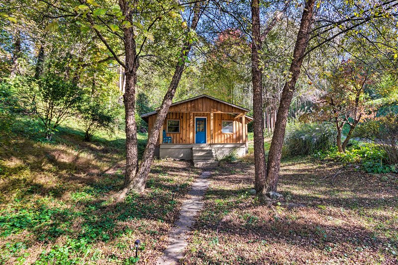 Cozy & Charming Asheville Cabin: 5 Mi to Downtown!, holiday rental in Woodfin
