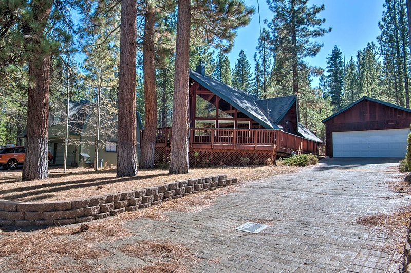 This South Lake Tahoe vacation rental home is the perfect Sierra Nevada retreat!
