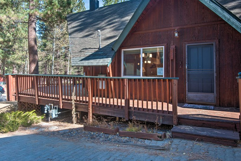Easily access this home with the keyless entry.