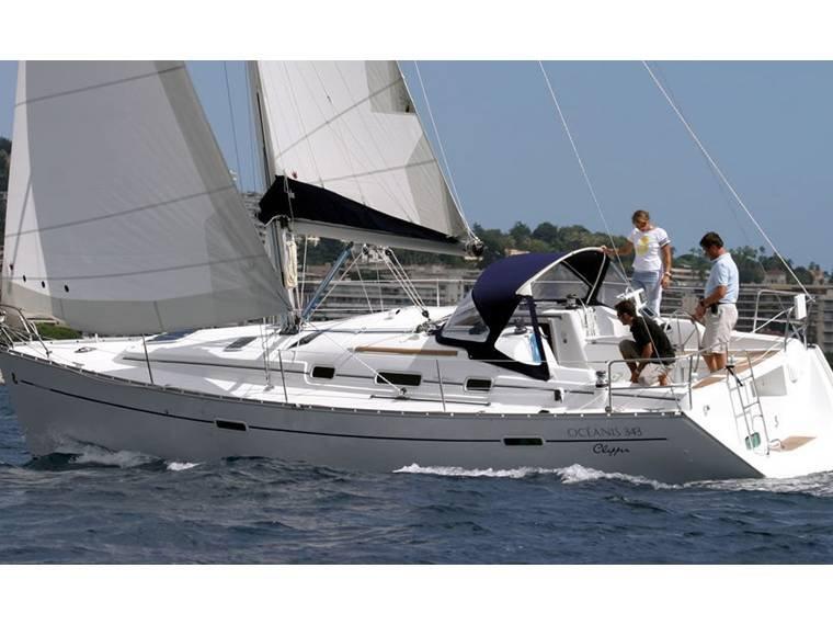 Barco Velero Puma 341 para dormir hasta 6 personas Badalona, alquiler vacacional en Santa Coloma de Gramanet