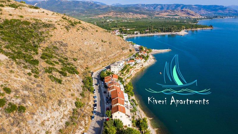 Kiveri Apartments - Seaside, SeaView, Big balcony, 1 Bedroom, 1 Bathroom, 40sqm, holiday rental in Paralio Astros