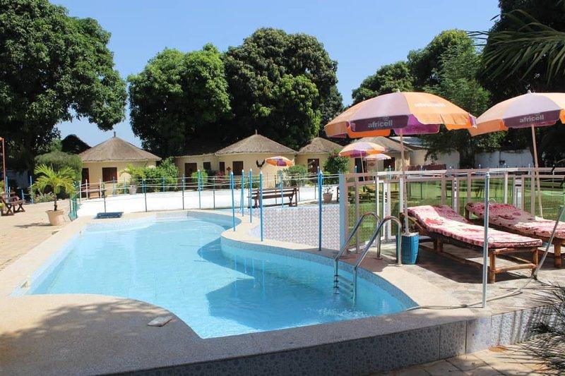 MANGO VILLAGE  ' A UNIQUE  GARDEN OF EDEN '  LOCATION UNDER GAMBIAN SKIES>   ', casa vacanza a Bijilo