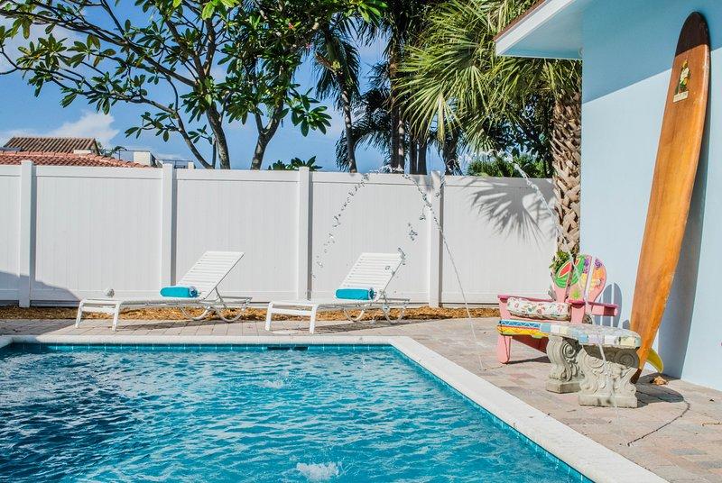 Island Oasis House! 2 blocks to Paradise, holiday rental in Boca Raton